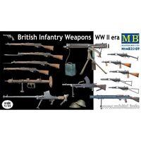 Master Box 35109 - 1/35 - British Infantry Weapons WW II
