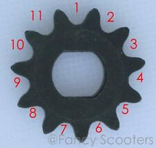 Drive Sprocket 25H x 11 Teeth, Double D @10MM PART07107