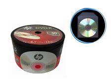 50-Pack (50-PK x 1) HP 16X Logo Blank DVD-R Disc + 50 Clear Plastic Sleeves