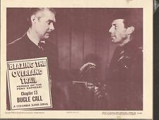 1956 MOVIE LOBBY CARD #3-995 - BLAZING THE OVERLAND TRAIL - SERIAL - CH13
