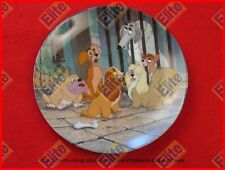 """Lady and The Tramp """"Dog Pound Blues"""" Collectors Plate by Knowles"""