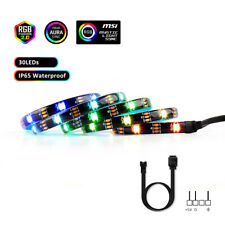 LED Strip Light RGB 5V Addressable WS2812B LED PC Motherboard for ASUS Aura SYNC