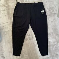 Nike Flex Bliss Lux Women's Plus Size Training Trousers Size 26-28 2X Black NEW