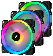Corsair LL120 PWM RGB 120mm Computer Case Fans - Triple Pack
