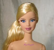 Nude barbie side pony mackie face sculpt London dotw for ooak or play