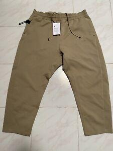 Nike Sportswear Tech Pack Cropped Woven Pants Mens Size Medium AR1562 247 XL New