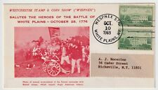 1969 USA FDC - Salutes The Heroes of Battle of White Plains