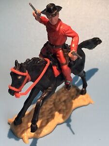 TIMPO TOYS ORIGINAL US WESTERN MOUNTED COWBOY FIGURE & HORSE RARE LATE ISSUE