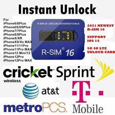 2021 R-SIM16 Nano Unlock RSIM Card for iPhone 12 Pro MAX /11/XR/8/7/7 Plus iOS14