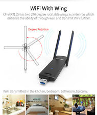 300Mbps USB Wireless Repeater Amplifier WiFi Range Extender Booster CF-WR311S