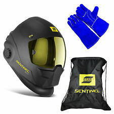 ESAB Halo Sentinel A50 Automatic Welding Helmet 0700000800, BAG & WELDING GLOVE