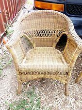 Wicker Set -2 Chairs, Table -Denver Area Only