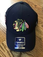 Chicago Blackhawks Jonathan Toews Fanatics Branded Player Flex Hat Black