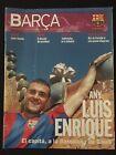 REVISTA BARÇA 1 FUTBOL 2002  F.C.BARCELONA LUIS ENRIQUE-SAVIOLA-JASIKEVICIUS