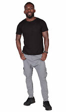 Pantaloni cargo uomo 'Carrot Fit' - Grigio pantaloni carrot da uomo