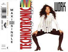 Technotronic Featuring Reggie Maxi CD Work - England (VG/EX)