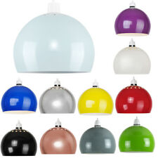 Retro Domed Modern Metal Ceiling Pendant Light Shade Lampshade Easy Fit Shades