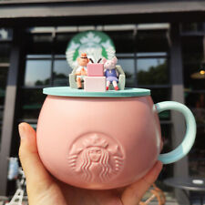 2020 Starbucks Cute Pig Coffee Mugs with Lid Milk Cup 450ml Gift Limited Edition