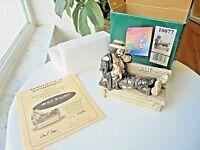 Flambro Emmett Kelly Jr. Wet Paint Collectible Nostalgia Series Box COA