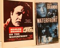 On the Waterfront 1954 film (VHS and Movie Tie-In Paperback) Marlon Brando