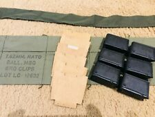 Authentic Usgi M1 Garand Bandolier Repack kit w/cardboards and Br-W clips