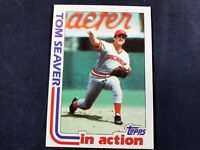 Z3-16 BASEBALL CARD - TOM SEAVER CINCINNATI REDS - 1982 TOPPS CARD #31