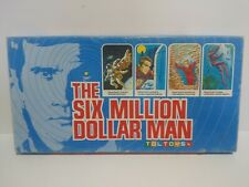 The Six Million Dollar Man Vintage Board Game Toltoys Complete