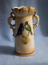 VINTAGE VASE  WITH TWO BIRDS