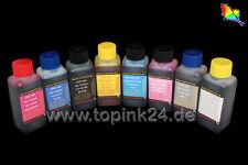 8 250 Tinte Ink für Canon Pixma Pro 100 S CLI 42 Bk K C Y M PC PM GY LGY BCI-43