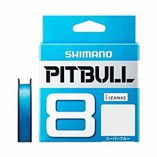 PE line Pitbull 12 braid 200 meters 0.6 No Shimano Site lime 13.9lb P SHIMANO