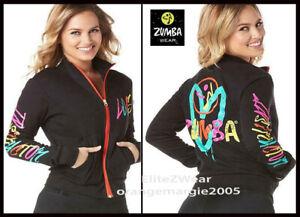 Zumba Be About Love Zumba Instructor Zip-Up Jacket Cardigan Jumper EliteZW - M L