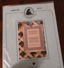 Virtues Way from Heartwarming Samplers  Patricia L Preston
