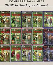 Teenage Mutant Ninja Turtles - COMPLETE SET of 15 TMNT Action Figure Covers!!