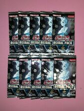 Yu-Gi-Oh! Sealed! Astral Pack 5 Booster Packs x10