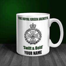 Royal Green Jackets Personalised Ceramic Mug Gift