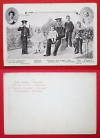 AK DRESDEN 1903 König Friedrich August von Sachsen mit Kindern ( 24304