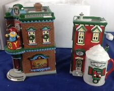 Dept 56 Snow Village ~ Saturday Morning Downtown ~ Damage With Box 51446