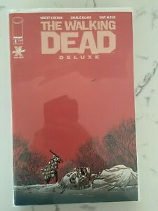 Walking Dead Deluxe #8 Tony Moore Cover NM Beauty!! Image Comics