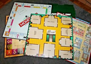 VINTAGE BOARD GAME SPARES * Game Boards only