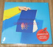 JONGHYUN SHINee 1ST ALBUM 좋아 She is K-POP CD + PHOTOCARD + FOLDED POSTER SEALED