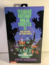 NECA TMNT Super Shredder Secret of The Ooze Movie 7? Action Figure NEW 2020