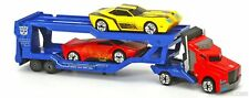 Transformers Optimus Prime with Carrier Including Bumblebee and Sideswipe - New