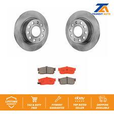 Rear Brake Disc Rotor & SIM Semi-Metallic Pad Kit For Nissan Maxima Infiniti I30