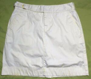 Ralph Lauren Golf White Skort Size 4