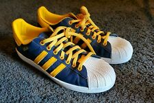 EXCELLENT BARELY WORN ADIDAS Superstar Black Suede Shell Toe Basketball 11 12