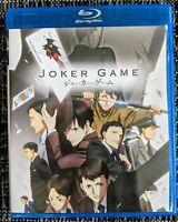 Joker Game: The Complete Series (Blu-ray 2-Disc) English Dub Anime no DVD