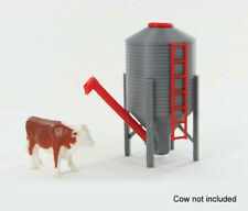 1:64 FARM STORAGE BIN AUGER PLASTIC 3D TO SCALE DIORAMA ACCESSORY