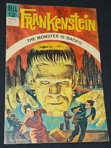 AUG-OCT 1964 - FRANKENSTEIN - DELL COMIC - FIRST ISSUE - ORIGINAL