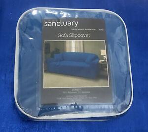 Sanctuary Blue Sofa Cover