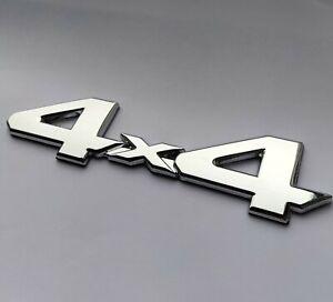 Silber Chrom 4x4 Metall Auto Abzeichen Emblem für Ssangyong Musso Rexton Korando